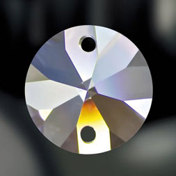 Kristallen ronde vorm