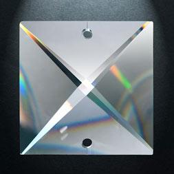 Kristallen vierkant