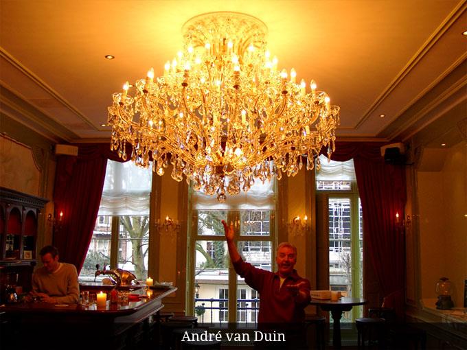 Kroonluchter Andre van Duin