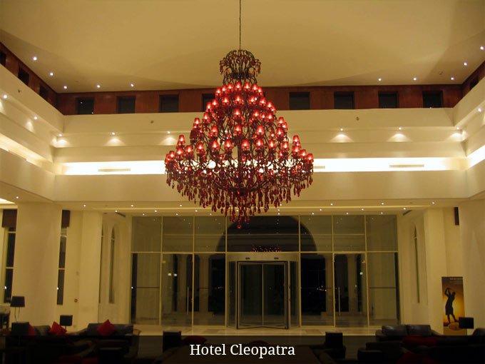 Kroonluchter Hotel Cleopatra