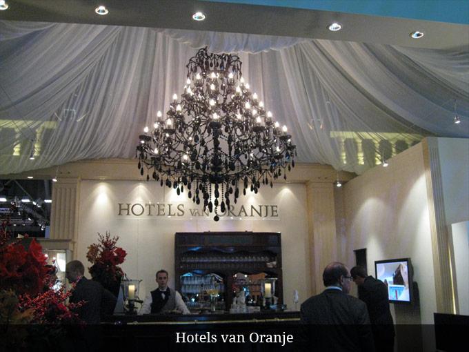 Kroonluchter Hotels van Oranje