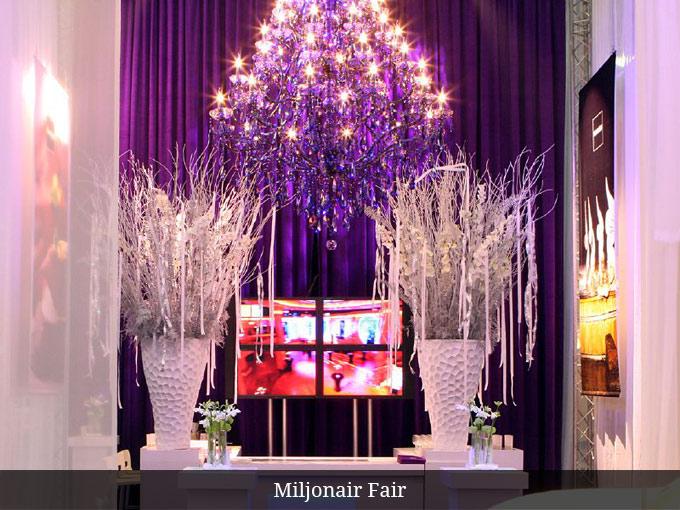 Kristallen Kroonluchter Miljonair Fair