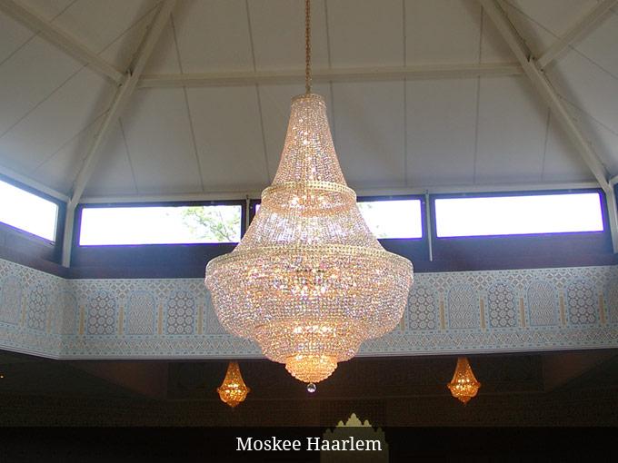 Kroonluchter Moskee Haarlem