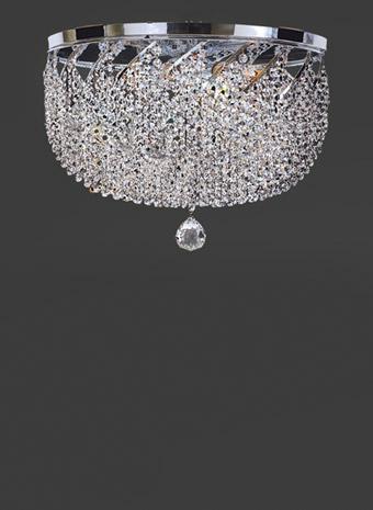 Kristallen plafonnière